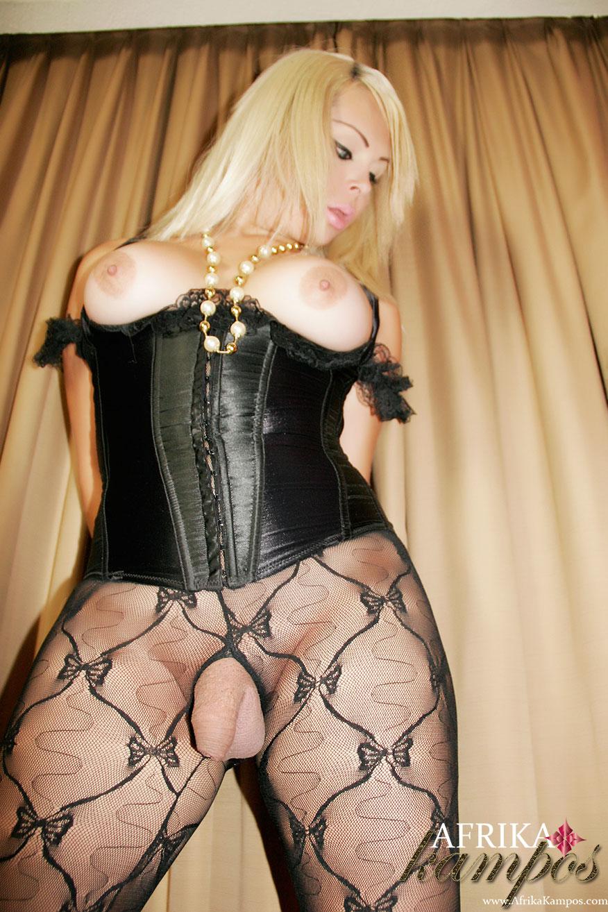 shemale corset