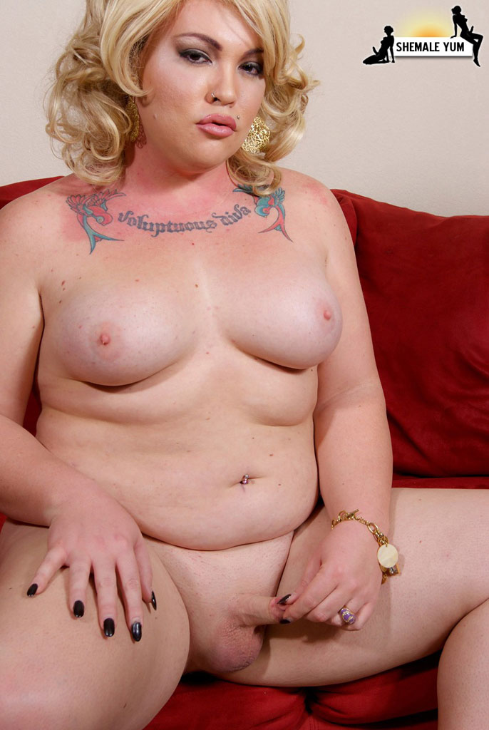 fat obese blonde naked