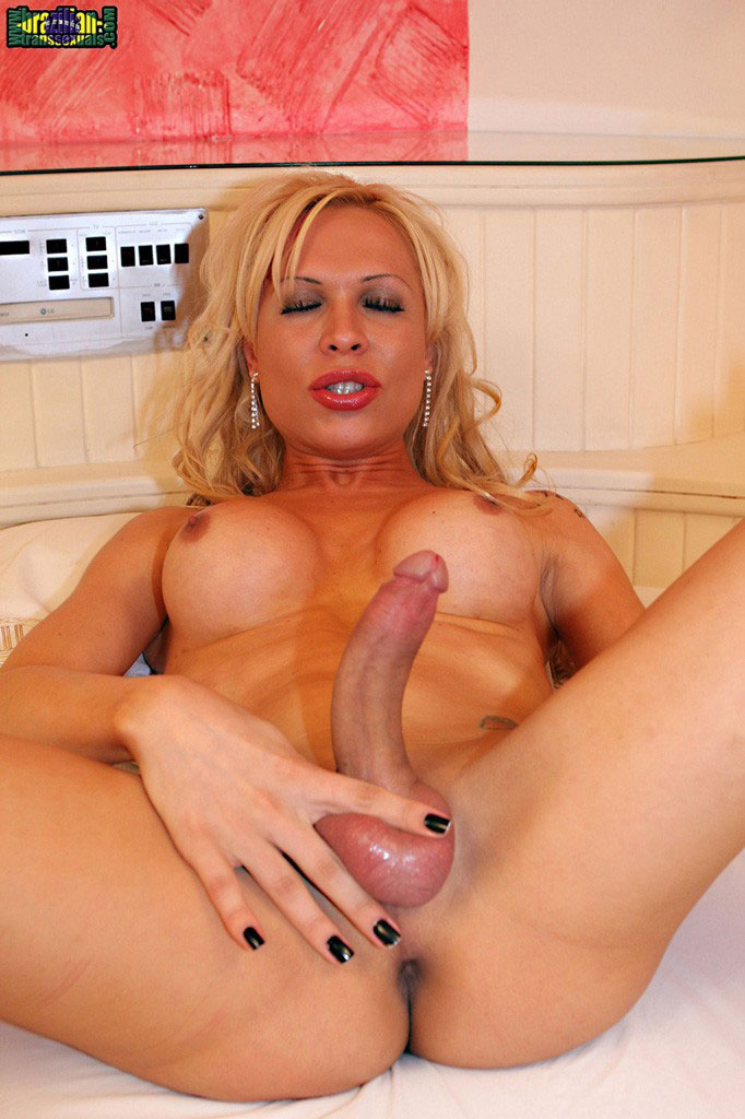 Hot blonde latin shemales