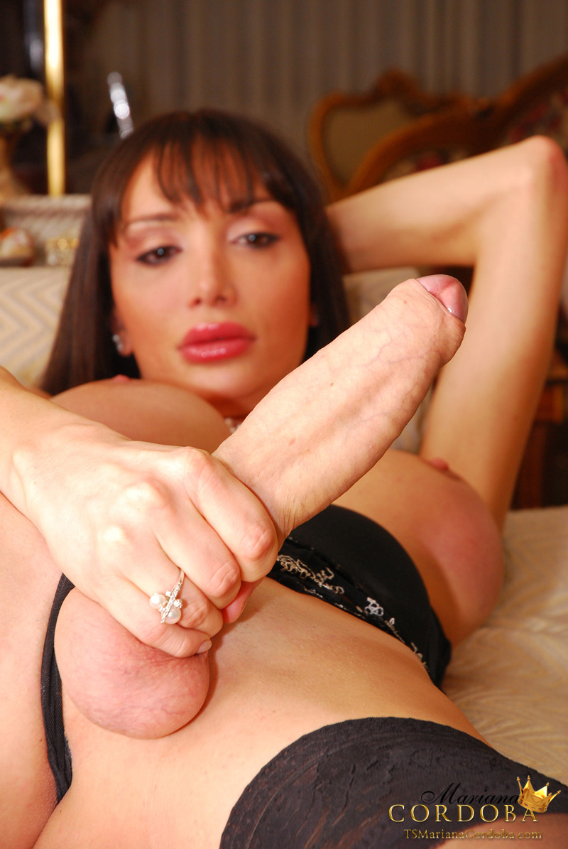 Black Hung She Male Thumbs 94