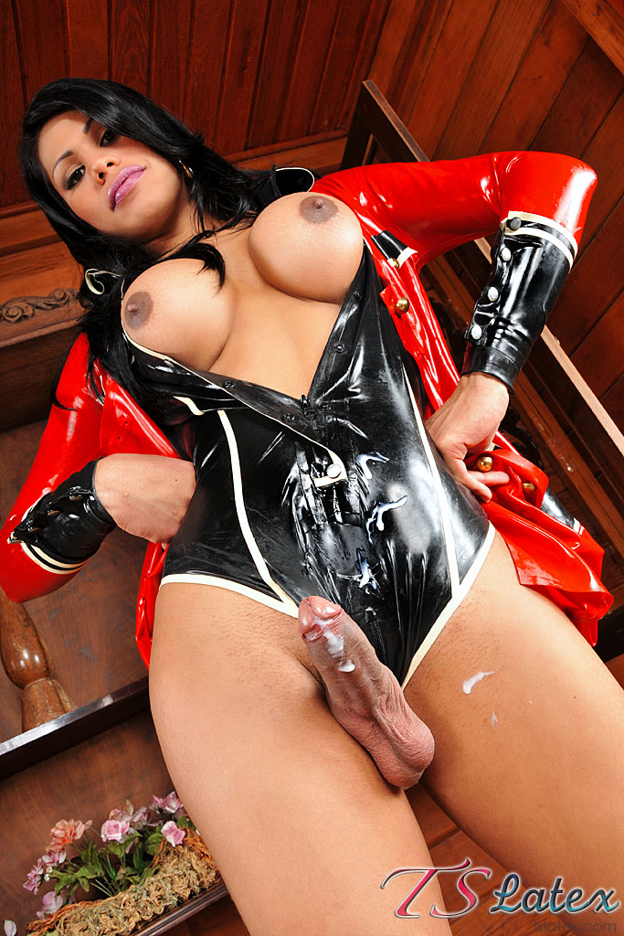 big cock transexual latex  pics