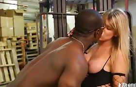 Nikita super sucked by black stud