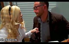 Dolly shemale blondie bangs guy